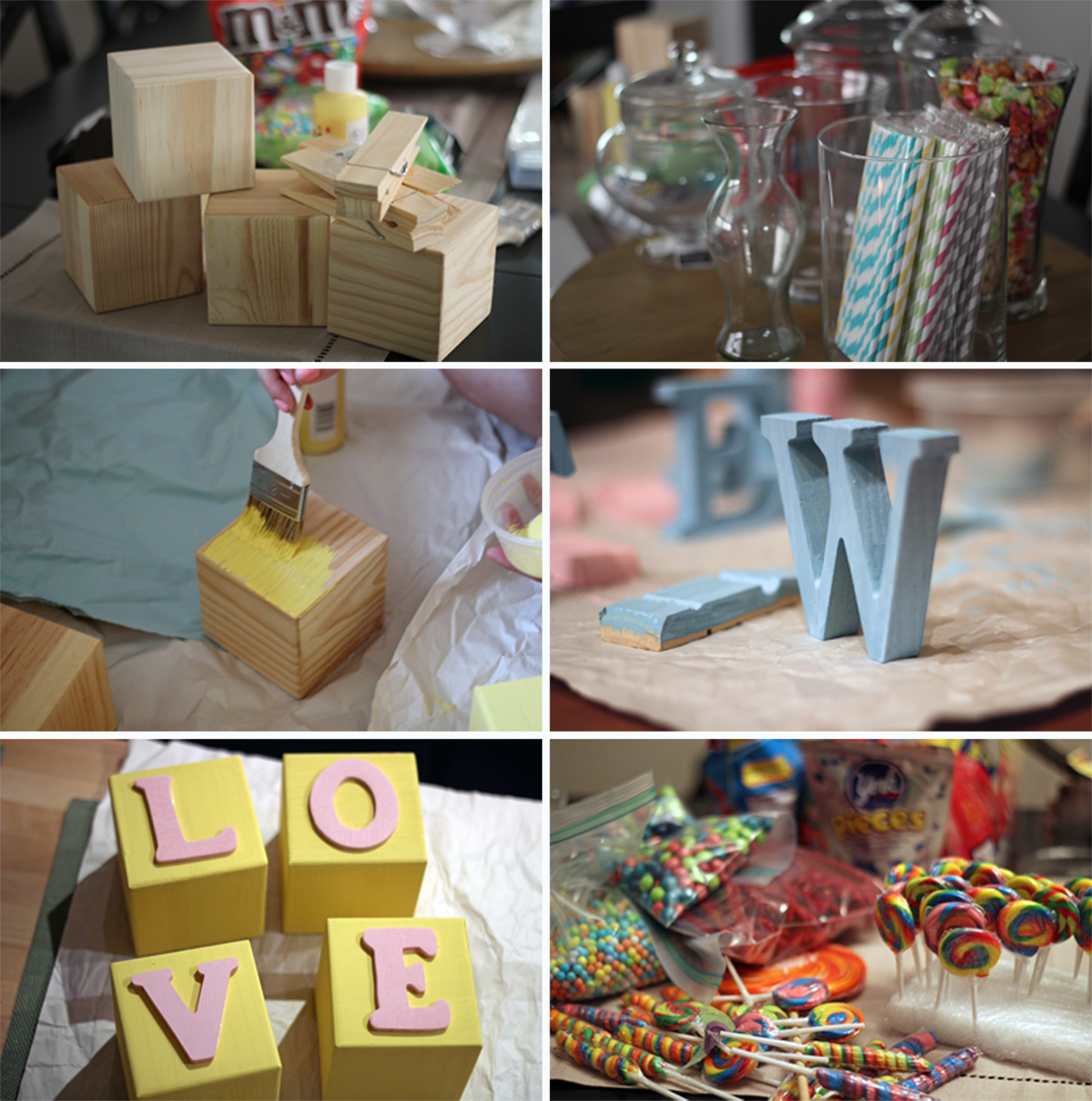 Candy For Baby Shower Ideas: A Classy Carnival Baby Shower