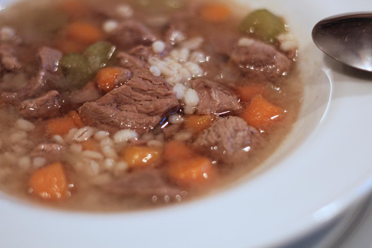 beef barley soup – really risa