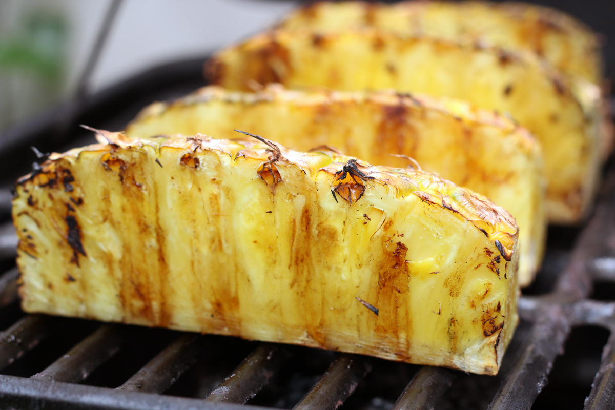 grilled pineapple – really risa